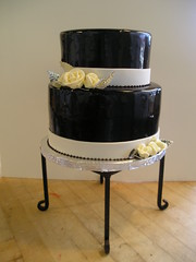 Soft dark chocolate (Josef's Vienna Bakery) Tags: wedding food cake dessert marisa chocolate weddingcake nevada tahoe bakery reno sparks hess josefs marisahess