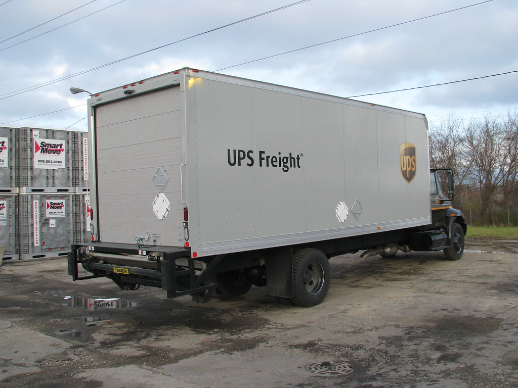 Ups Freight Quote New Ups Freight Straight Truck