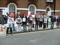 S7301404 (FREE BURMA2008) Tags: london for embassy demonstration jail years leaders 88 receive burmese generation 65 terms