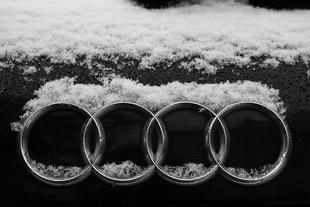 blackandwhite snow explore badge a3 audi tunbridgewells blackwhitephotos sonydslra100