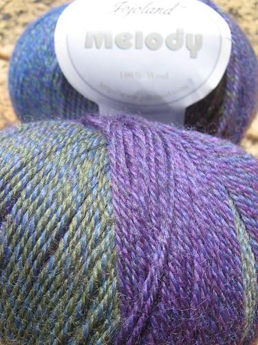 Melody yarn