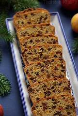Fruit Bread (2/2) (Thorsten (TK)) Tags: christmas xmas blue winter food holiday green apple cookies germany weihnachten holidays advent adventszeit sweet traditional seasonal raisins fromabove rye german cranberries bakery sweets tradition typical flour dates apfel figs apricots driedfruit baked currants christmascookies tradtional highangle traditionalfood gebck foodphotography fromtop foodpresentation fruitbread tannenzweige frchtebrot winterly weihnachtsbckerei xmascookies winterfood christmasbakery christmasfood weihnachtsbaeckerei foodstyling topdownview germanchristmascookies xmassweets christmassweets traditionalcookies foodtraditions roggenmehl thorstenkraska germanchristmasfood germanfoodtradition germanchristmasbakery weihnachtsbkerei germanxmascookies germanchristmassweets christmasfoodingermany germanychristmascookies