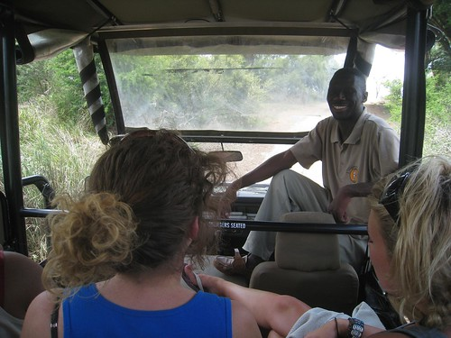 I spent my third day with Elson (guide) in the lead vehicle