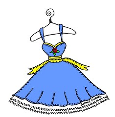 dress (DianaEvans) Tags: prettydress bluedress dianaevans