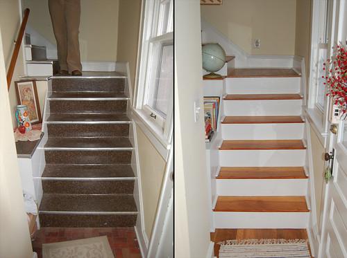 linoleum flooring on stairs gurus floor. Black Bedroom Furniture Sets. Home Design Ideas