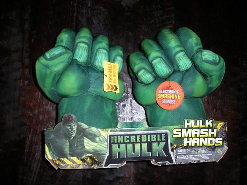 Hulk Boxing Gloves