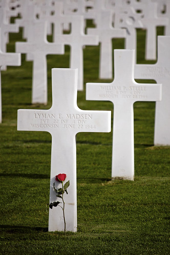 American Cemetery and Memorial in Normandy