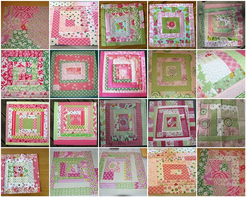 Cottage Quilting Bee - My blocks
