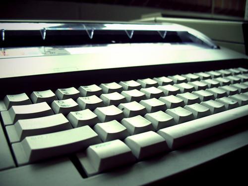 Typewriter:  March 15, 2009