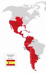 Imperio Español America 1800