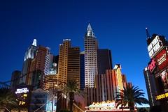 New York New York Hotel and Casino @ Sunset.