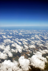 I love being above the Clouds .. (Ozlem's Photography) Tags: blue sky high azerbaijan clauds ozlems ozlemsanatci