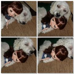 Floquinho e Maggie