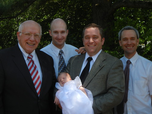 May 8 2011 Dad, Lee, Darrell, Kylie and Grant Cooper