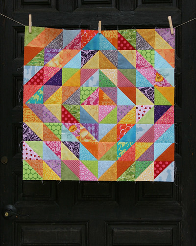 warm/cool quilt top 1