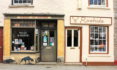 Murder and Mayhem bookshop, Hay-on-Wye