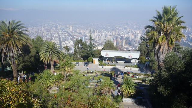 Santiago vu depuis le Cerro San Cristobal