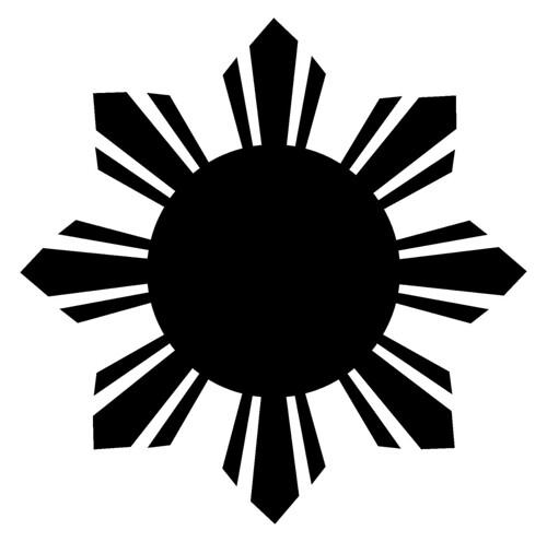 filipino sun tattoo. Philippine Sun