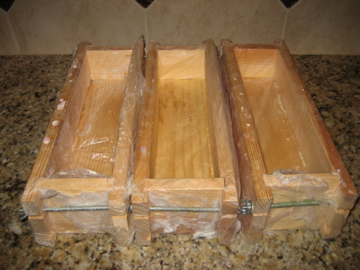 wooden soap molds