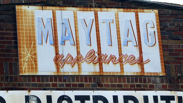 Old Maytag sign