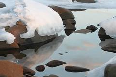 Clouds and Ice (Sharon Mollerus) Tags: ice minnesota brightonbeach duluth lakesuperior qd11 qd10 20080311img6047 qd13