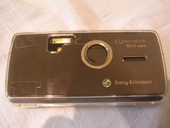 Camera Shutter Closed - Sony Ericsson K850i
