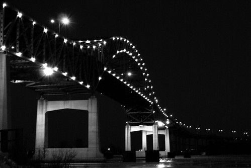 Hwy 2 Bridge BW