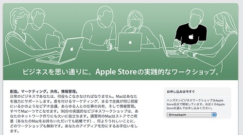 Apple Store business_workshop