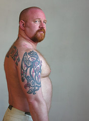 0268 (billpusztai) Tags: bear york red portrait pierced orange toronto man male men tattoo ink beard ginger football rugby bears beards auburn piercing tattoos redhead whiskers pierce bodymod piercings stretched tat muddy bodymodification barbe rugger barbu tats billpusztai muddyyork