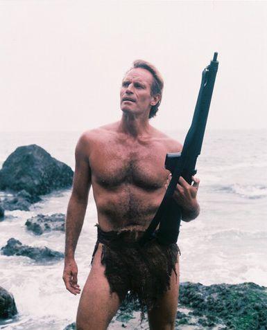 Charlton Heston en El Planeta de los Simios