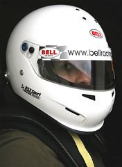 080416 - 267/365 (*janina*) Tags: selfportrait me race self myself bell pentax helmet hans racing days april 365 ja 2008 janina helma racinghelmet duben k100d