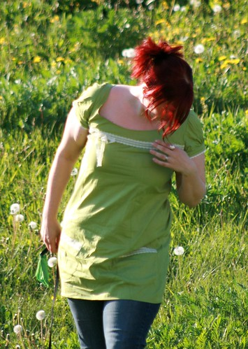 Green tunic/dress