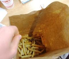 Fry overflow