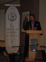 Pierre Hermé: Giving a speech