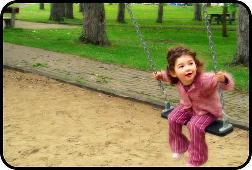 Balancer l'enfance