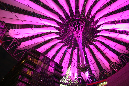 Sony-Center @night