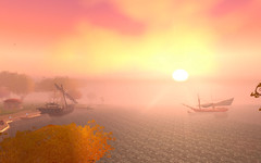 Sunwell Setting (shadowspix) Tags: sunset wow warcraft isle sunwell queldanas