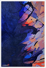 ABSTRACT (Impact) (YOUSEF AL-OBAIDLY) Tags: abstract painting impact teacheryousef يوسفالعبيدلي احمدجوهر أحمدجوهر