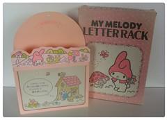 My Melody letter rack 1976 (Lucychan80) Tags: hello vintage sam little hellokitty kitty sanrio melody tuxedo 80s 70s stationery mymelody twinstars littletwinstars my sanriovintage sanriovintagecollection collectionjouetsvintage jouetsannées80