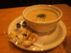 Clam Chowder @ Bj's