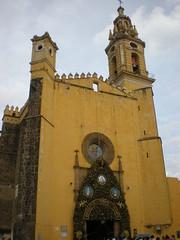 Cholula, San Gabriel Convent 1549-1552 (sftrajan) Tags: mexico kirche cholula église kerk kyrka kostel kościół franciscans conventodesangabriel estadodepuebla cholōllān sangabrielmonastery eltemplodesangabriel