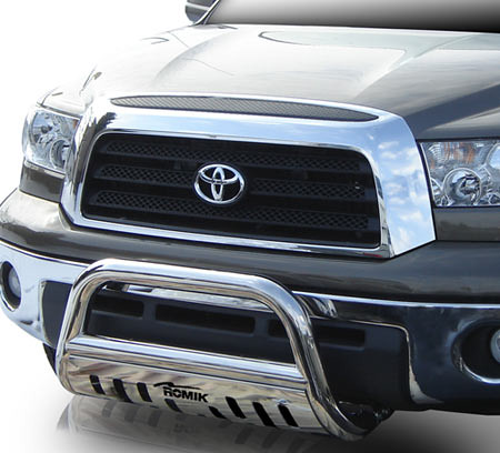 Bull bar buyers guide tundra headquarters blog romik bull bar on a toyota tundra mozeypictures Image collections