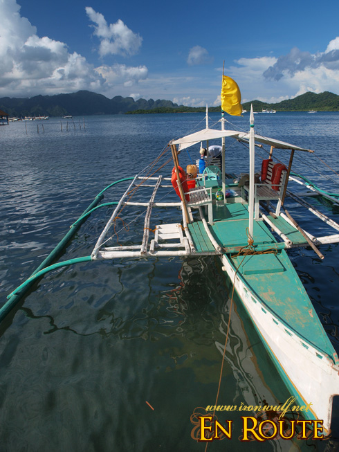 Our tour boat island hopping