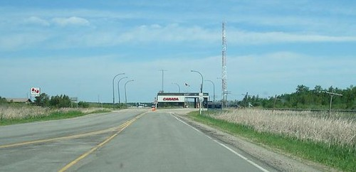 Canadian Border Crossing - Sprague, MB