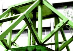 estructura-verde (Clauminara) Tags: verde green lines mxico mexico mexicocity df universidad contraste autonoma metropolitana ciudaddemexico xochimilco lineas distritofederal estructura uam mejico mjico uamx universidadautnomametropolitanaunidadxochimilco