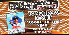 Washington Nationals Saturday night movies