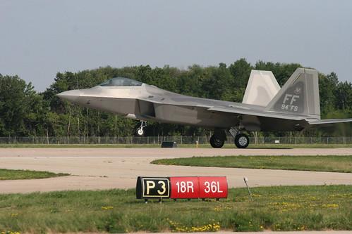 F-22 Raptor par Mike Rollinger
