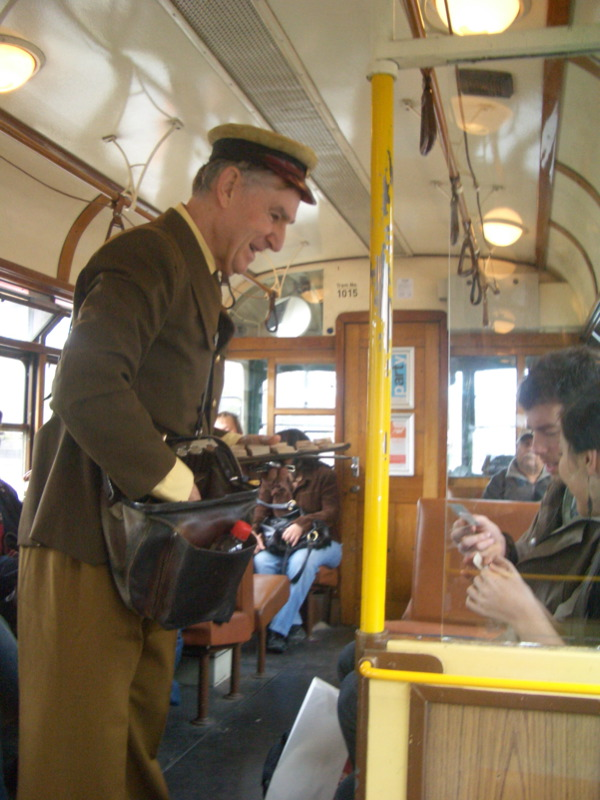Tram Conductor