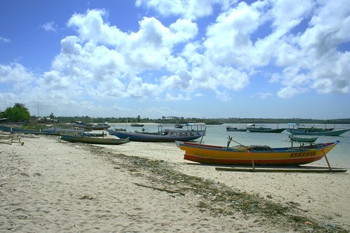 Serewe seaweed boats