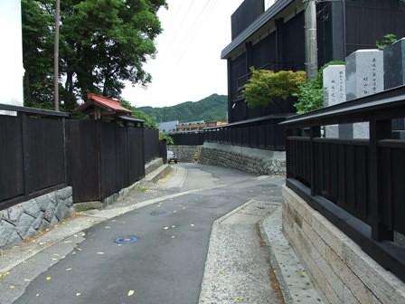 黒塀通り~寺町
